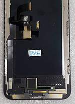 Модуль (сенсор+дисплей) для Apple Iphone X чорний, фото 2