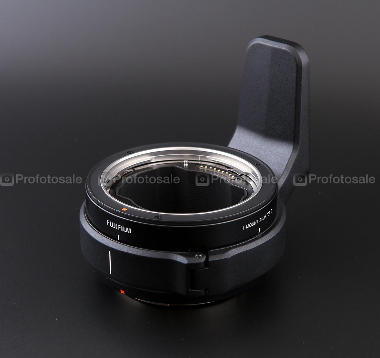 Переходник для установки оптики Hasselblad H на Fujifilm GFX5 (H mount adapter G)