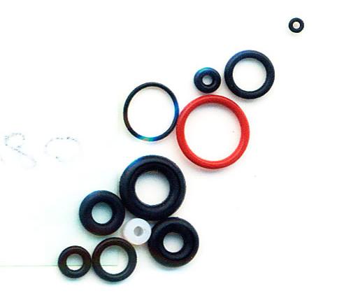 Комплект уплотнительных колец для аэрографа BD-180. FENGDA RK-180