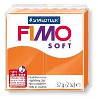 Пластика Soft, Оранжевая, 57г, Fimo