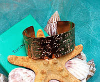 "Браслет Tiffany & Co / Тиффани ""Золотое сияние"" (реплика)"