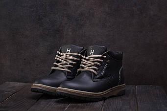 Ботинки Anser 65 (Hilfiger) (зима, подростковые, кожа)