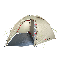 Палатка 4-х местная кемпинговая с алюминиевым каркасом RedPoint Kimeriya-4