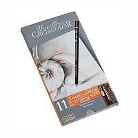 """Набор карандашей для рисунка """"Teacher's choice"""", 11 предметов., мет. упаковка, Cretacolor"""