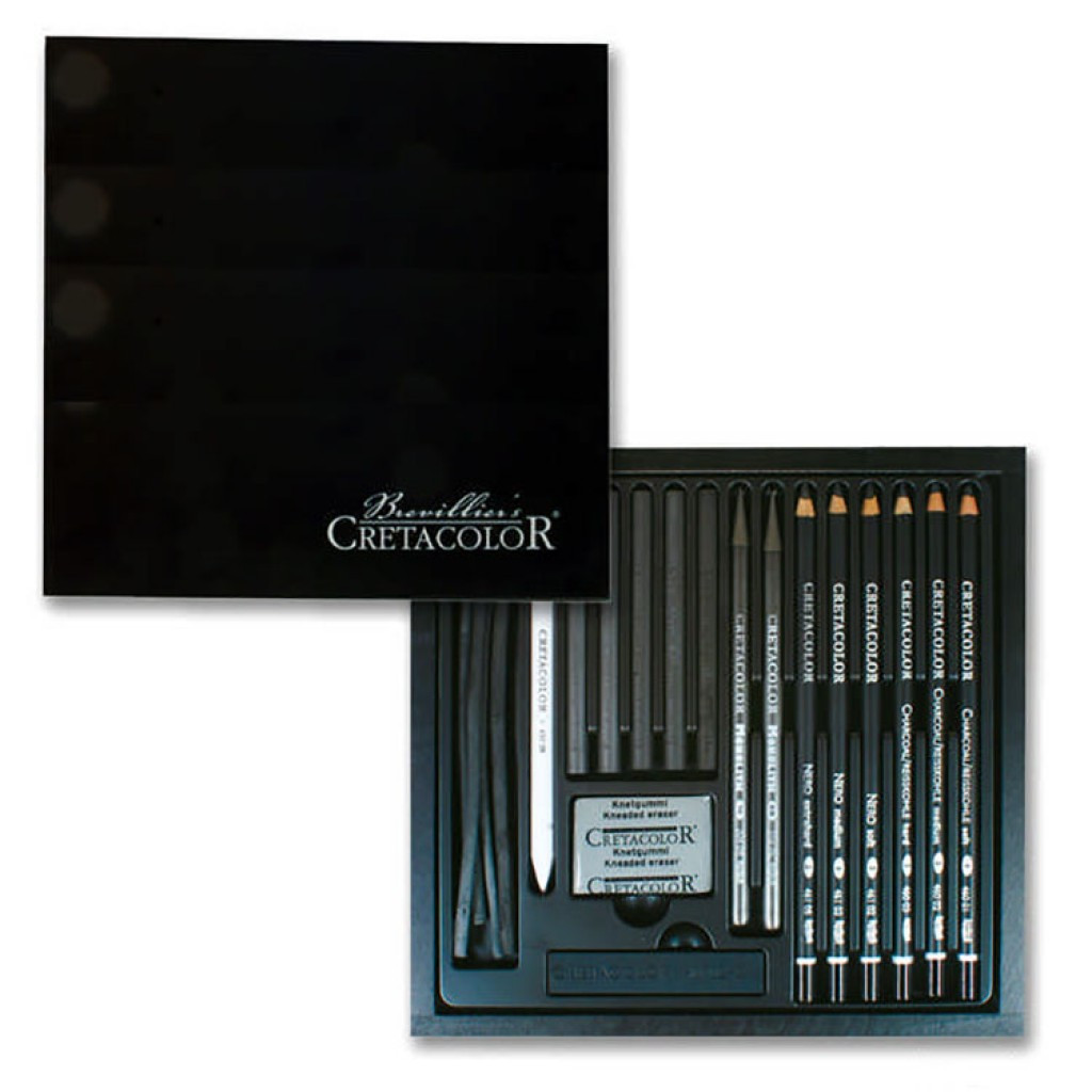 Набор карандашей для рисунка Black Box, 20шт., дер. упаковка, Cretacolor