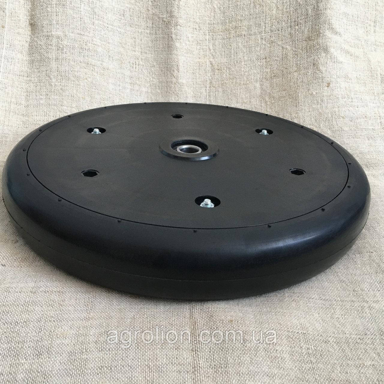 Прикотуюче колесо в зборі K3609210 ( диск поліамід) 325x50 (2 x 13)