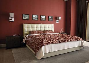 Ліжко двоспальне з мякою спинкою спальню Глорія Lefort