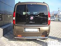 Задняя дуга AK002 (нерж) - Fiat Scudo 1996-2007 гг.