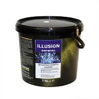 ILLUSION Cristal - покрытие с перламутровым металлическим эффектом алюминия, 5 кг