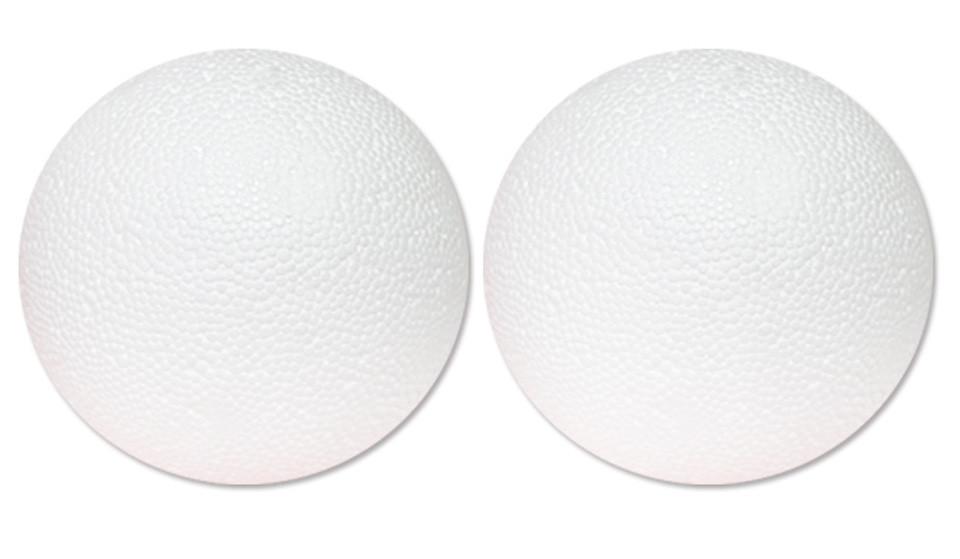 Пенопластовый шар d:15см