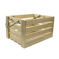 Ящик квадратный, 23х23х21см, сосна, ROSA TALENT