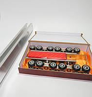 Раздвижная система EKF до 100 кг. для межкомнатных дверей
