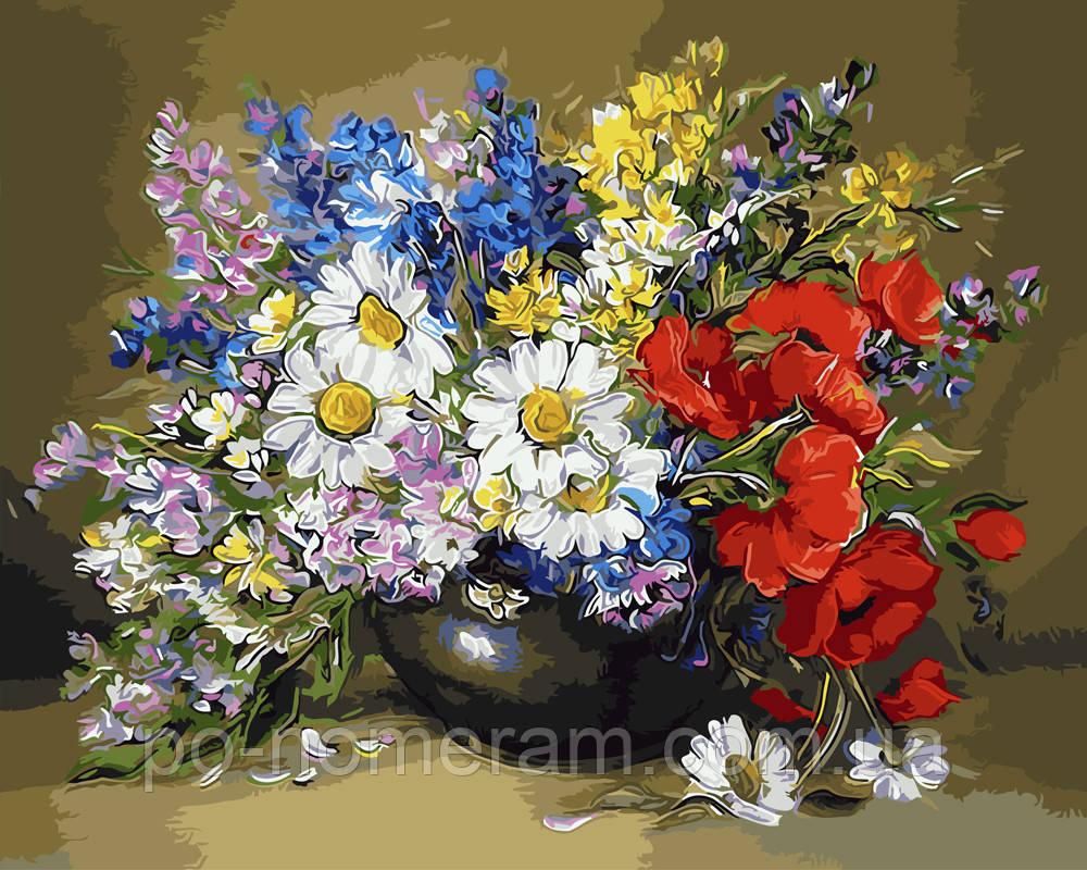 Раскраска для взрослых Буйство красок (BK-GX9471) 40 х 50 ...