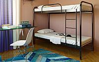 Двухъярусная Металлическая кровать Relax Duo (Релакс Дуо) 80х190 см. Метакам