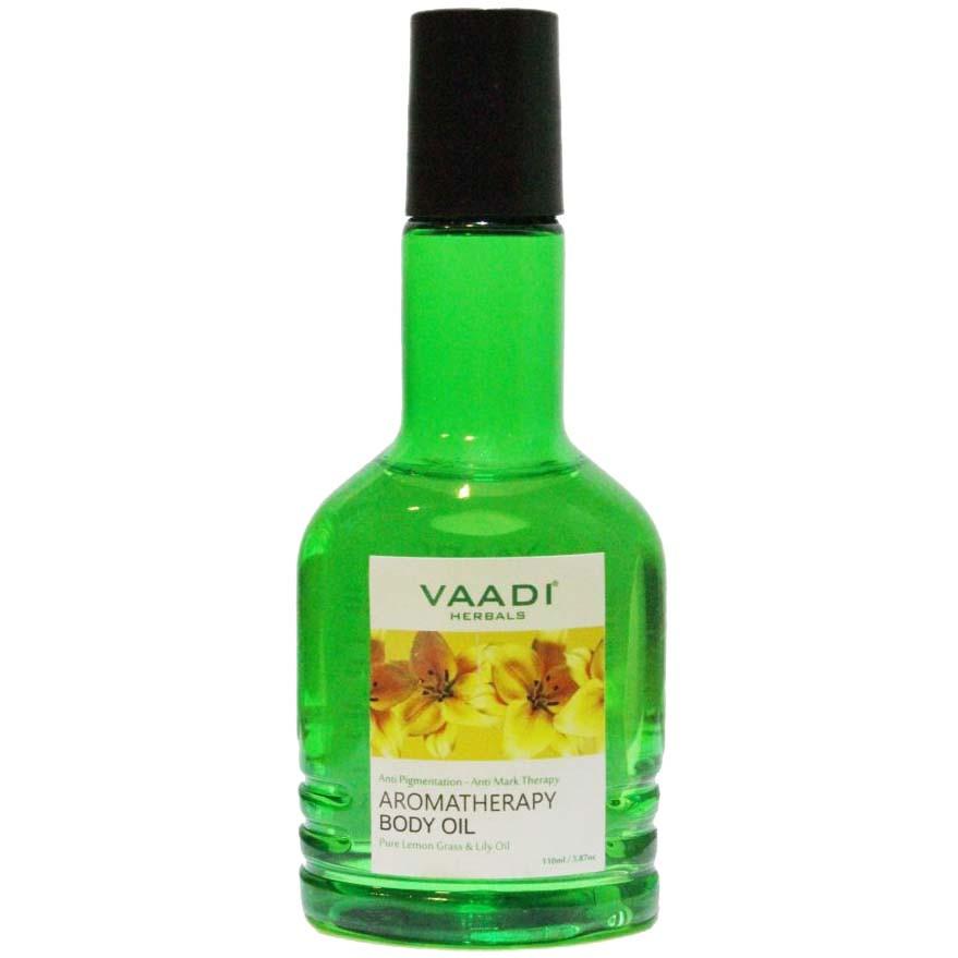 Масло для тела с лимонной травой и маслом лилии, 110 мл