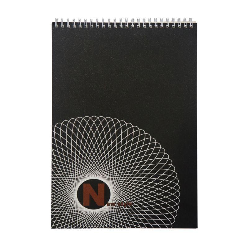 Блокнот New Style А6, 65/80г/м2, 48л., черный, Лилия Холдинг