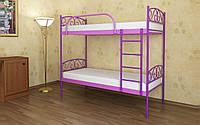 Двухъярусная Металлическая кровать Verona Duo (Верона Дуо) 80х190 см. Метакам