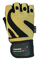 Рукавички для залу PowerPlay 1064 B Жовті XL, фото 1