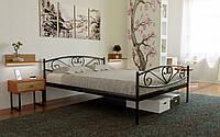 Металлическая кровать Milana-2 (Милана-2) 80х190 см. Метакам