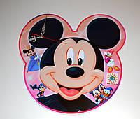 Часы для детского сада или детской комнаты Микки маус 25 см