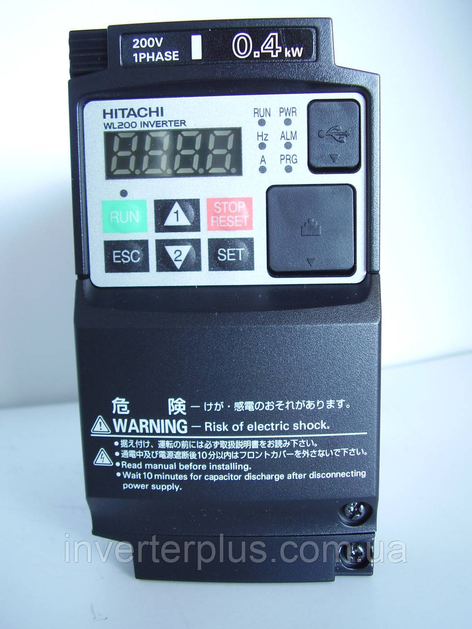 WL200-004SFE; 0,4кВт/220В. Частотник Hitachi