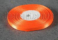 Лента атласная морковная 0,6 см 36ярд арт.151