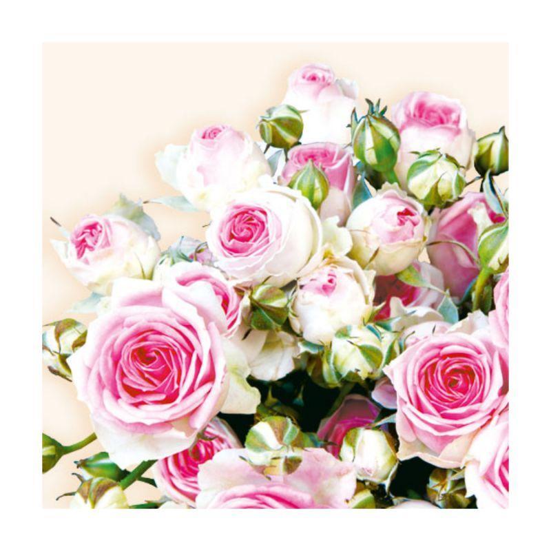 """Декупажные салфетки """"Букет роз"""", 33*33 см, 18,5 г/м2, Abiente"""