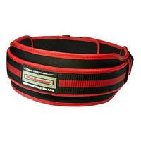 Пояс атлетичний PowerPlay 5545 Чорно-червоний XL