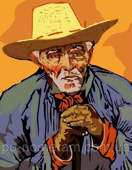 Картина по номерам Ван Гог Портрет крестьянина (BRM6353 ...