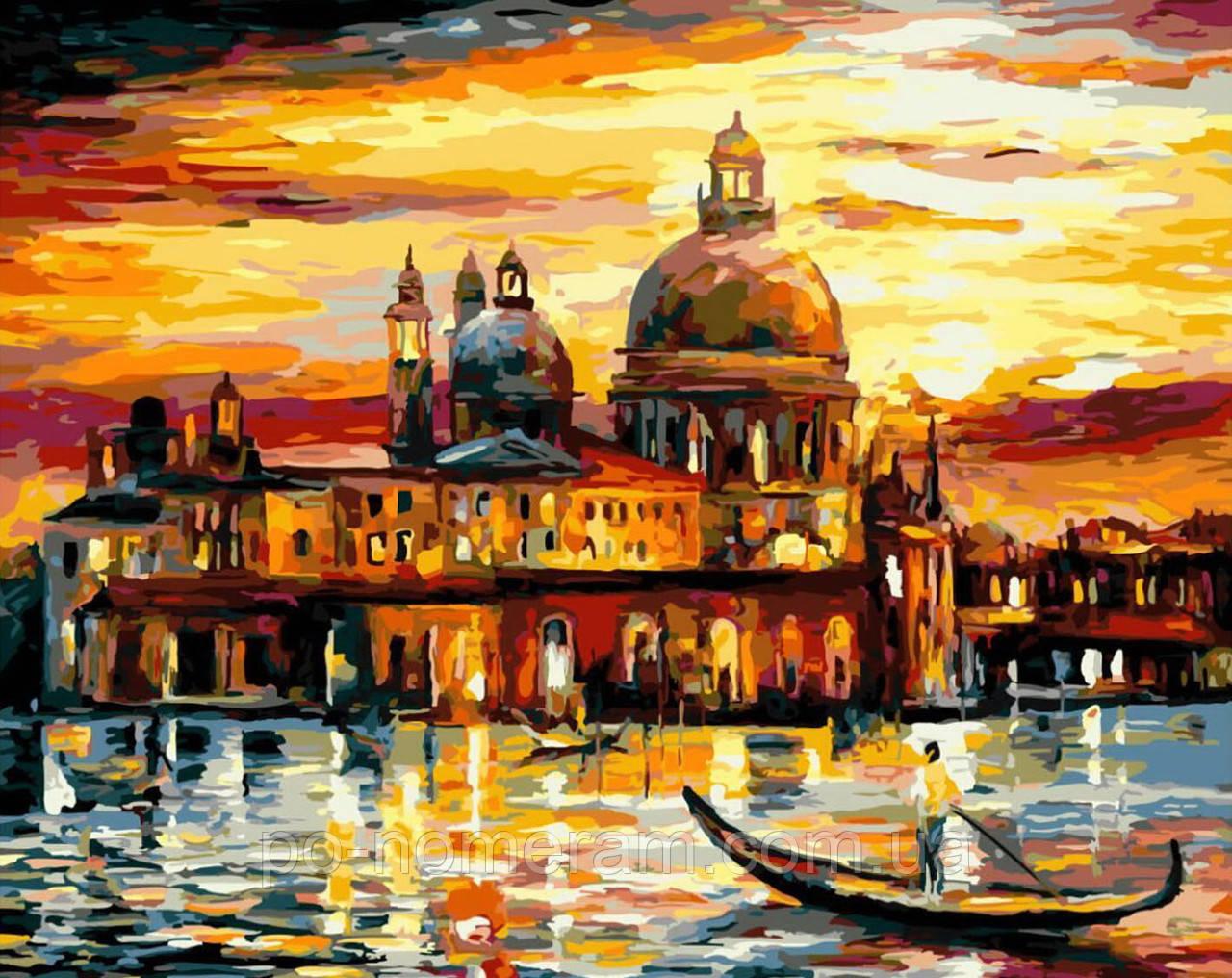 Раскраска для взрослых Венеция на заказе (BRM6753) 40 х 50 ...