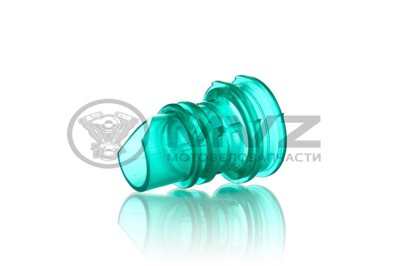 """Патрубок воздушного фильтра  DIO  силиконовый, зеленый  """"NEOPLAST"""""""
