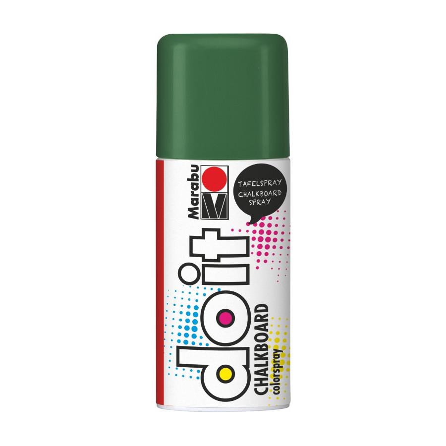 Краска-спрей, Chalkboard, Зеленая, 150мл, do it, Marabu