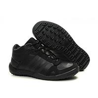 Кроссовки мужские Adidas DAROGA U41189 Black черные с мехом