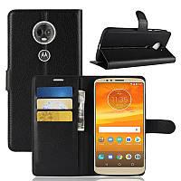 Чехол для Motorola Moto E5 Plus / XT1924-1 книжка PU-Кожа черный