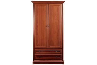 Шафа (шкаф) з ДСП/МДФ в спальню/вітальню/дитячу 2Д (430) Кантрі Світ Меблів