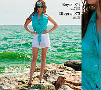 Летняя блуза из хлопка, фото 1