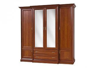 Шафа (шкаф) з ДСП/МДФ в спальню/вітальню/дитячу 4Д Кантрі Світ Меблів