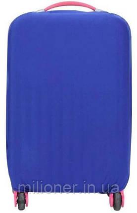 Чехол для чемодана Bonro маленький синий (12052009) S , фото 2