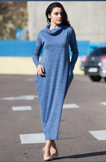 95b2ec40af8 Купить Теплое платье ангоровое длинное в Николаеве от компании