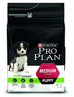 Сухой корм Pro Plan Medium Puppy 3кг