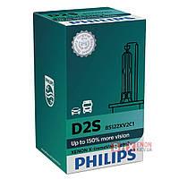 Ксеноновая лампа PHILIPS 85122XV2C1 D2S X-treme Vision gen 2 +150%, фото 1