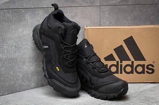 Мужские Кроссовки Adidas CLIMAPROOF TERREX 350 Black Высокие черные зима, фото 2