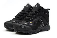 Мужские Кроссовки Adidas CLIMAPROOF TERREX 350 Black Высокие черные зима
