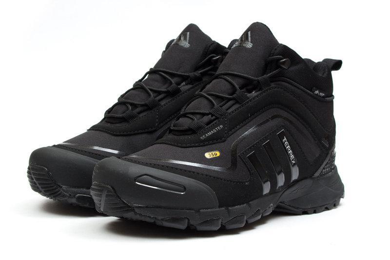 904de945 Мужские Кроссовки Adidas CLIMAPROOF TERREX 350 Black Высокие черные зима -  BBZ Shoes & Wear в
