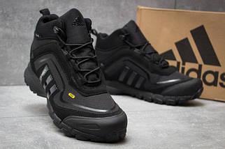 Мужские Кроссовки Adidas CLIMAPROOF TERREX 350 Black Высокие черные зима, фото 3