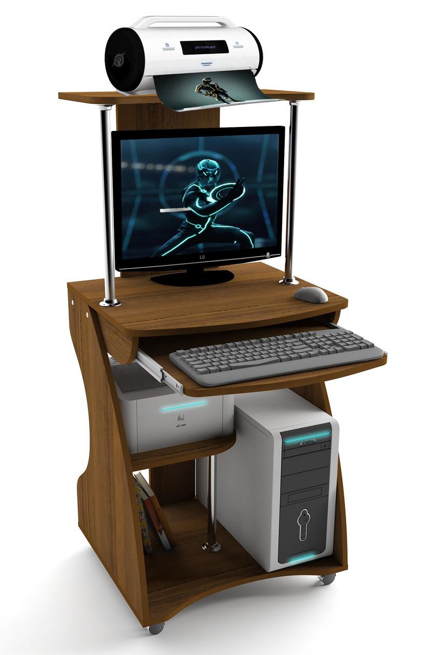 "Стол компьютерный 60х53х80 см. ""Davos-2"" Орех"