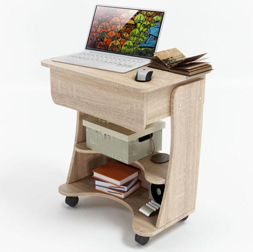 """Стол для ноутбука 65х45х76 см. """"Kombi A2"""" Цвет на выбор"""