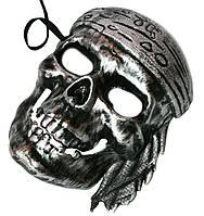 """Маска """"Пиратский Череп"""" пластик"""
