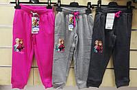 Спортивные штаны для девочек оптом, Disney, 3-8 лет,  № 62621