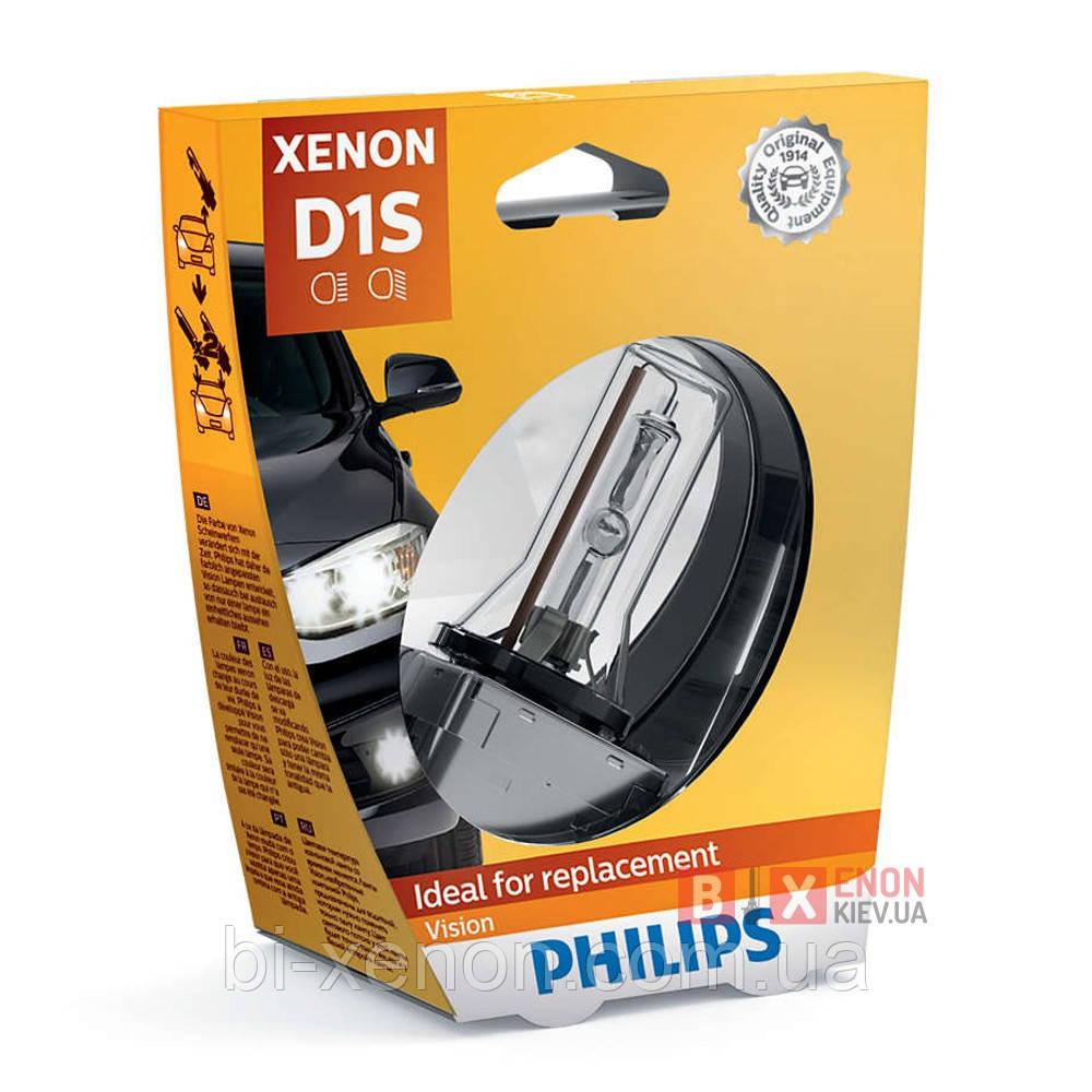 Ксеноновая лампа PHILIPS 85415VIS1 D1S Vision +30%